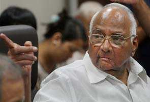 Sharad Pawar's party meets in Delhi; Maharashtra Chief Minister calls meeting to discuss standoff