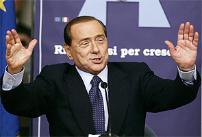 Women lining up to marry me: Italian PM Berlusconi