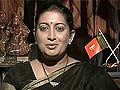 BJP's Smriti Irani files defamation complaint against Congress leader Sanjay Nirupam for using 'indecent language'