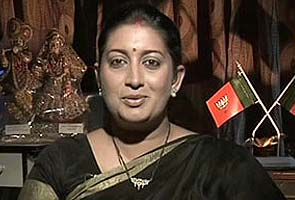 BJP protests Sanjay Nirupam's jibe against Smriti Irani, demands apology from Sonia Gandhi