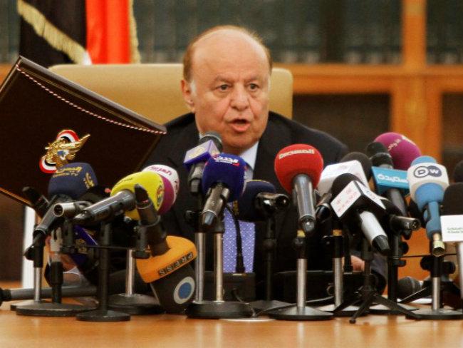 Yemen's President Abd-Rabbu Mansour Hadi Forced From Leadership of Party