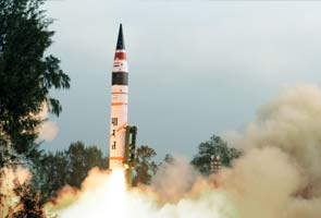 Akash missile test-fired for the second time