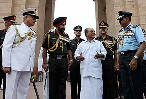 Pay parity panel has no military representative: Navy Chief to Defence Minister