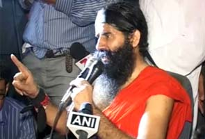 Baba Ramdev will spend night at Ambedkar Stadium, police on guard