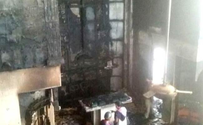 Church Gutted in East Delhi, Police Say Arson