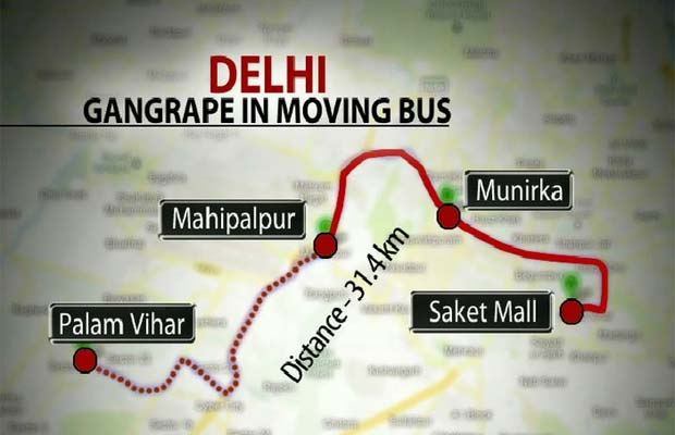 Gang-rape on a Delhi bus: victim fights for life, police track down ...
