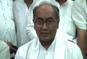 Digvijaya Singh equates the RSS to the Taliban