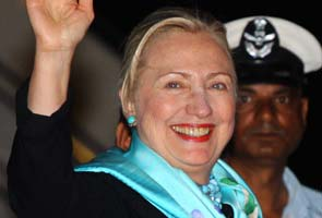 Hillary Clinton arrives in India for strategic dialogue