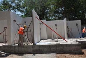 Blog how iit madras built a flat for 6 5 lakhs for Cheapest construction method