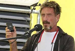 John McAfee wants to return to US, 'normal life'