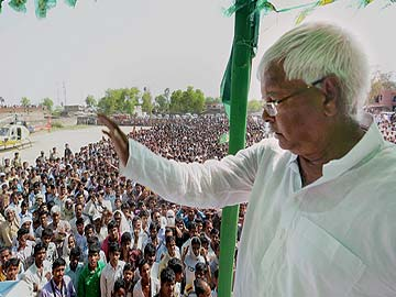 Lalu Prasad confident of his party's victory, says 'no Modi wave in Bihar'