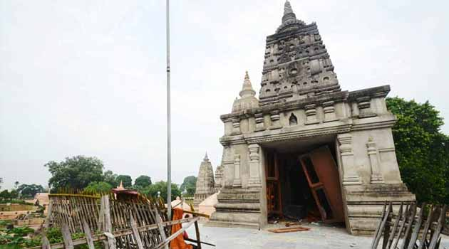 Bodhgaya: Eight blasts in Mahabodhi temple; two injured