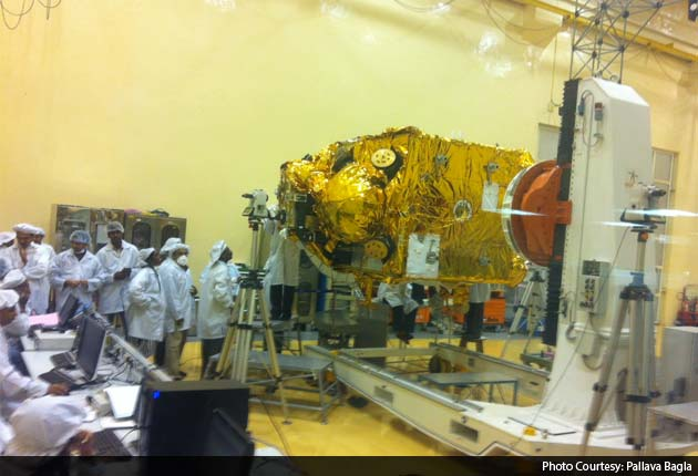 Mangalyaan, India's satellite to Mars, could be launched in less than a month.