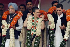Rahul Gandhi leads Congress' charge at mega rally; backs Government on reforms