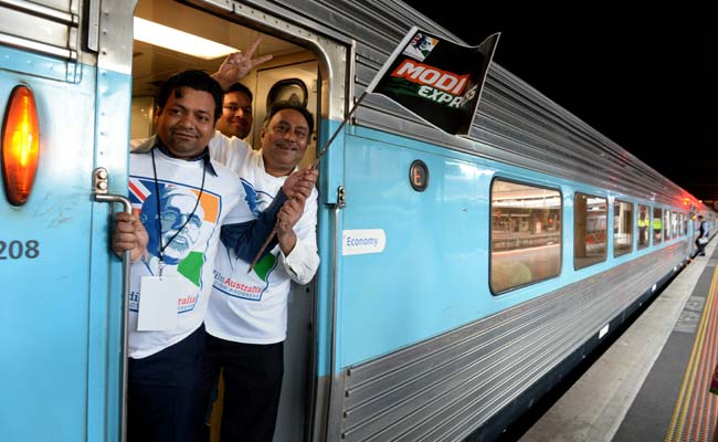 On Board the Modi Express, Gujarati Thali, Song and Dance