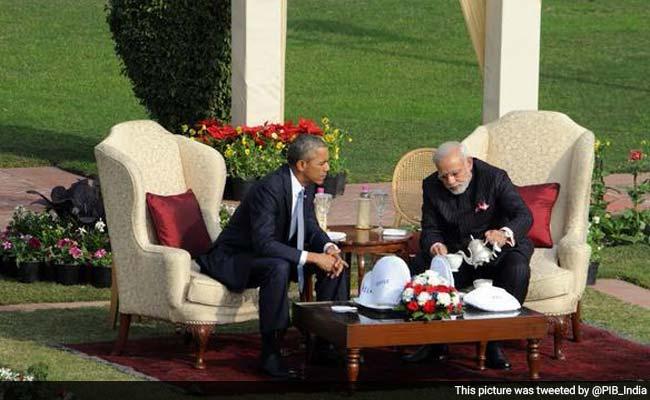 'Thank You for Chai pe Charcha,' President Barack Obama Says After PM Modi Pours Tea
