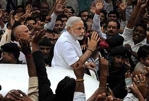 Strong show of support for Narendra Modi in Nitish Kumar's Bihar