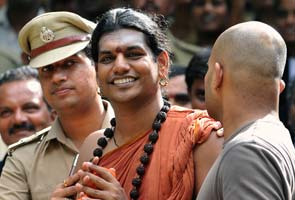 Nithyananda in police case for allegedly mixing 'holy' water with drugs