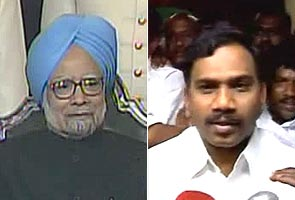 2G scam: Raja gone, PM to make statement in Parliament today