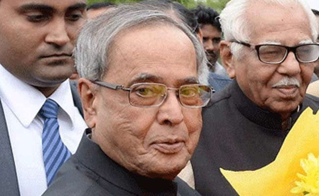 President Pranab Mukherjee Admitted to Army Hospital With Upset Stomach