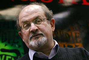 Uncertainty over Salman Rushdie's video link; complaints against authors who read from 'The Satanic Verses'