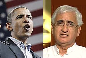 Salman Khurshid, Minister-in-Waiting for Obama