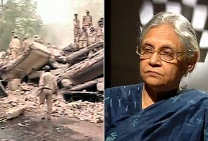 Delhi building collapse: Dikshit orders judicial probe