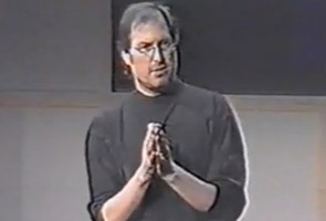 Steve Jobs, Circa 1997, reintroducing Apple