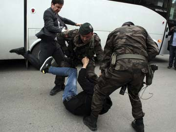 Turkish PM's Aide who Kicked Protester Sacked: Official