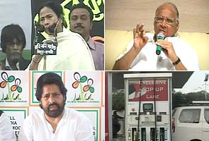 Fuel price hike: Trinamool upset over not being consulted