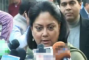 Vasundhara Raje to be BJP's chief ministerial candidate in the upcoming Rajasthan elections