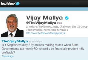 Kingfisher Airlines crisis: In India, airlines are overtaxed, says Vijay Mallya