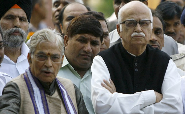 BJP Veterans LK Advani and MM Joshi are Mentors, Not Decision-Makers