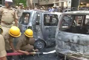 Low-intensity blast outside BJP office in Bangalore
