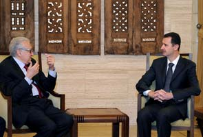 United Nations envoy worried after talks with Bashar al-Assad