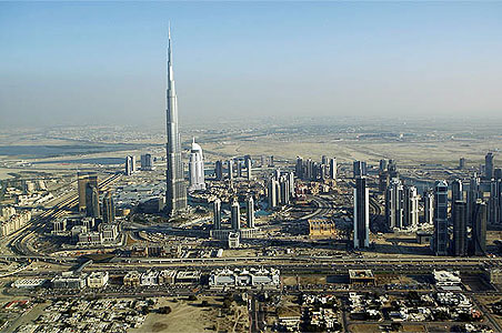 Dubai names world's tallest building after bailout patron