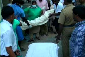 Four students killed outside Chennai after bus hits reversing truck