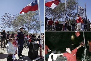 Trapped Chilean miners feast on meat pies