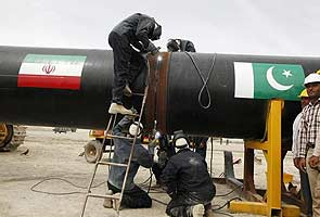 Pakistan starts work on Iranian gas line opposed by US