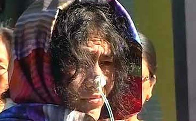 Court Rejects Attempt to Suicide Charge Against Irom Sharmila
