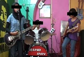 Abuses, threats can't silence Kashmir's only girl band