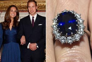 Why I gave Kate my mother's ring: Prince William