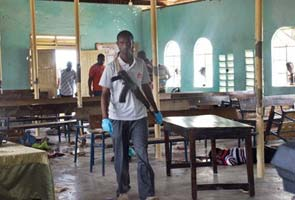 Gunmen open fire in church in Kenya; 15 killed, 40 wounded