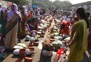 In Kerala, a festival that marks the world's largest gathering of women