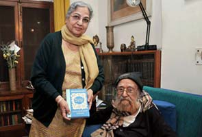 Khushwant Singh comes out with another book on 98th birthday