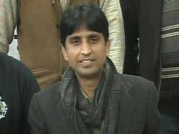 In Amethi, AAP's Kumar Vishwas invokes Rajiv Gandhi to take on Rahul