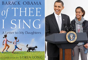 Obama, now an author of a children's book