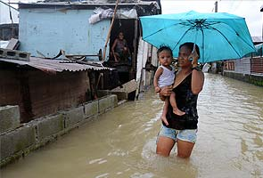 New storm brings flash floods, landslides to Philippines