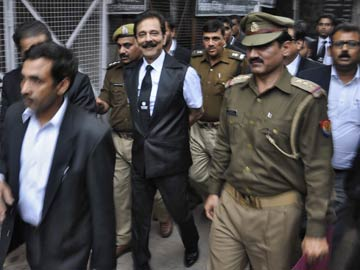 For 10 Days, Jailed Sahara Chief Subrata Roy Can Stay in Conference Room