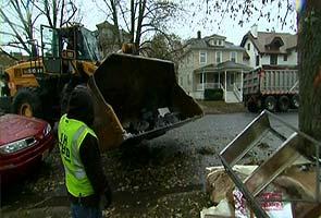 Wintry storm brings new woe to hard-hit US Northeast